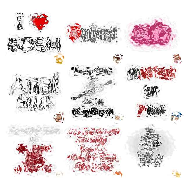 BDSM-Texte-Stickers-18+
