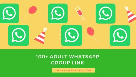 lien de groupe WhatsApp adulte 100+